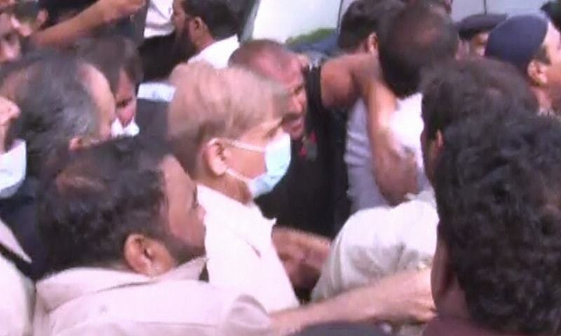Shehbaz Sharif arrested in money laundering case after LHC rejects bail