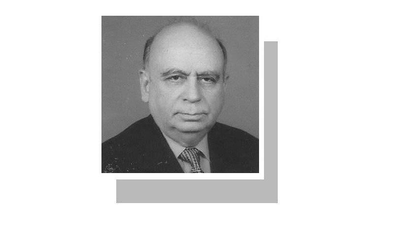 The writer, a former IGP Sindh, belongs to Gilgit-Baltistan.