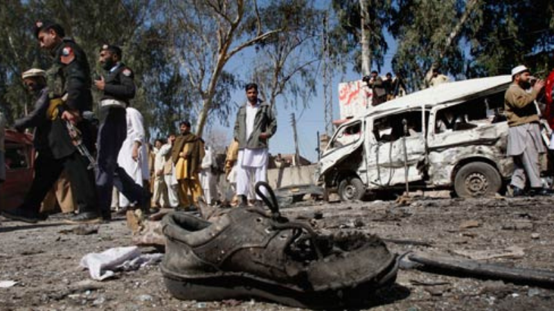At least five people were killed and two others injured in a blast in the Akbarpura area of Nowshera, Khyber Pakhtunkhwa, police said.