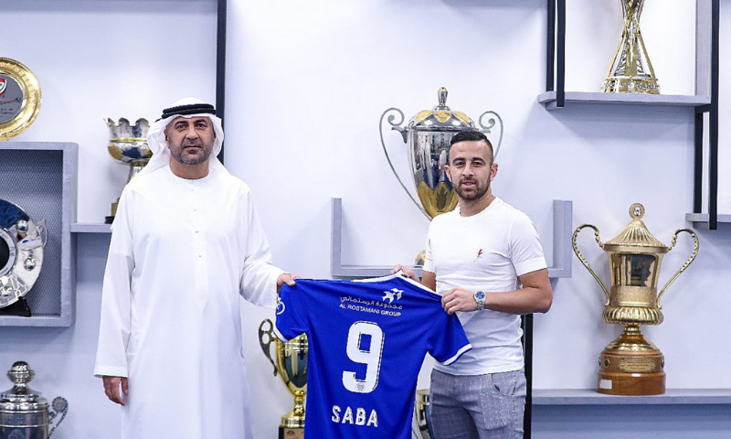 Midfielder Dia Saba has been signed by Dubai's Al-Nasr football club less than two weeks after UAE normalised ties with Israel. — Photo courtesy Sports Rabbi Twitter