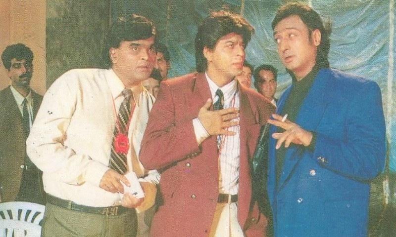 گلشن گروور اور شاہ رخ خان نے متعدد فلموں میں ایک ساتھ کام کیا ہے—اسکرین شاٹ/ یوٹیوب
