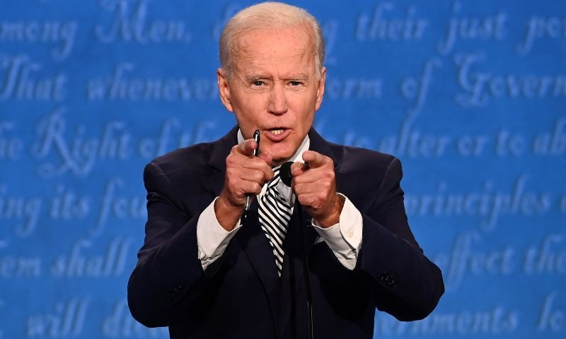 Joe Biden's use of 'Inshallah' to mock Trump raises eyebrows