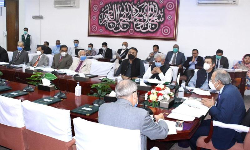 ای سی سی اجلاس میں وزارت کی جانب سے تمام سیکٹرز کے لیے یکساں اضافے کی تجویز سے اتفاق نہیں کیا گیا—تصویر: پی آئی ڈی