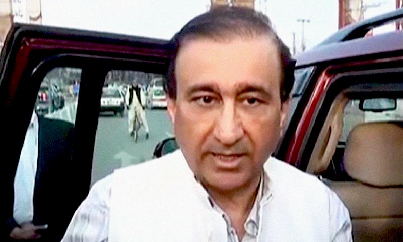 Editor-in-chief of Geo/Jang Group Mir Shakilur Rahman. — DawnNewsTV/File