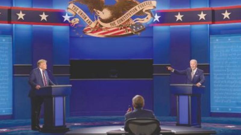 مباحثوں کا سلسلہ عام انتخابات تک چلتا ہے—فوٹو: اے پی