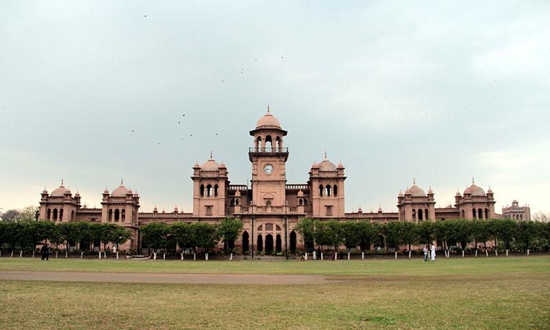 Islamia College University Peshawar. — Photo by Sarah Ansari/File