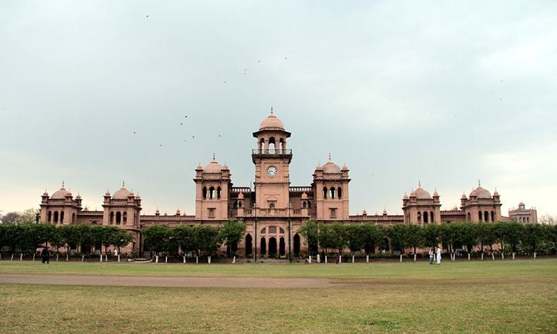 عدالت کسی کو بھی کسی قیمت پر کالج کی تاریخی اہمیت سے کھیلنے نہیں دے گی—تصویر: سارا انصاری