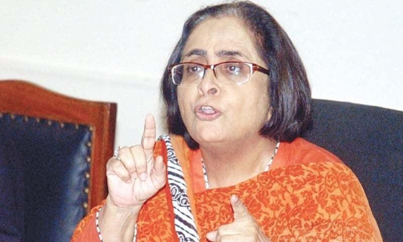 پاکستان میڈیکل کمیشن کی منظوری آئین سے ٹکراؤ کے مترادف ہے، ڈاکٹر عذرا پیچوہو