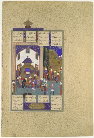 'Zahhak is Told His Fate', Folio 29v