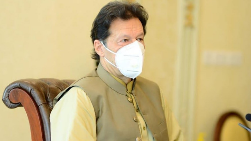 Prime Minister Imran Khan has urged the nation to wear face masks in public to avoid a spike in coronavirus infections. — Courtesy Imran Khan Instagram