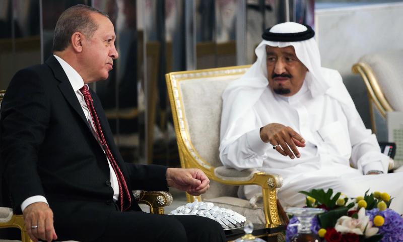اردوان کی تقریر:سعودی عرب کا اپنے شہریوں سے 'ترک اشیا' کے بائیکاٹ کا مطالبہ