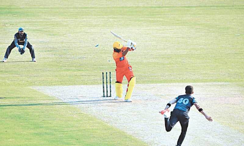 Shaheen strikes gold again as KP sink Sindh