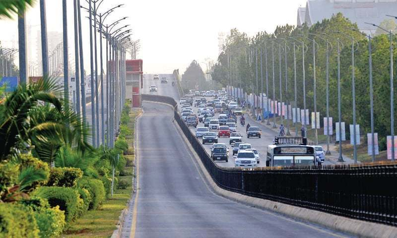 The Capital Development Authority (CDA) has finalised a Rs2 billion project to rehabilitate parts of the capital, which includes carpeting roads in urban areas, pavements, fixing streetlights, upgrading the drainage system and carrying out soft landscaping. — APP/File