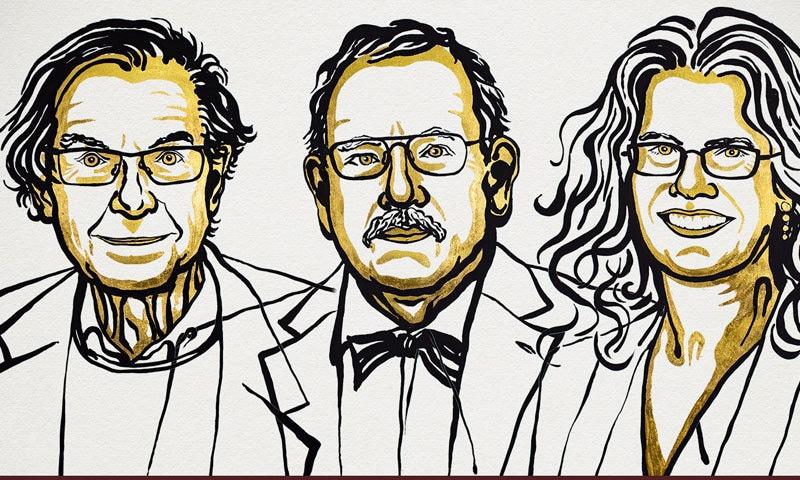 طبیعات کا نوبیل انعام خاتون سمیت تین سائنسدانوں کے نام