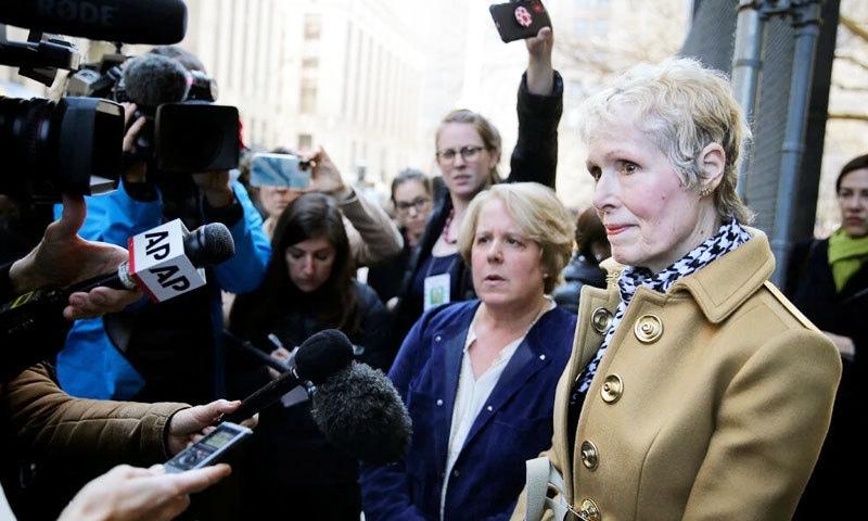 ٹرمپ پر 'ریپ' کا مقدمہ کرنے والی خاتون محکمہ انصاف کو کیس سے دور رکھنے کی خواہاں