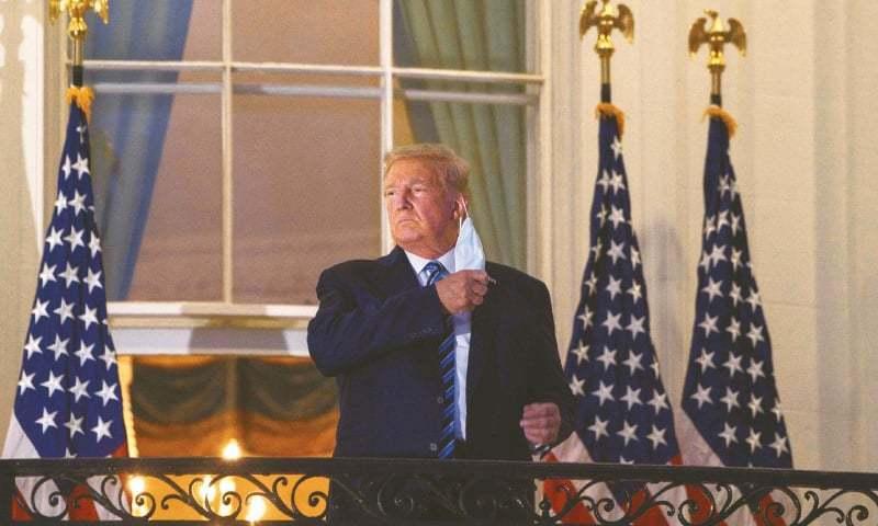 ڈونلڈ ٹرمپ نے کورونا امداد سے متعلق مذاکرات انتخاب تک ملتوی کردیے