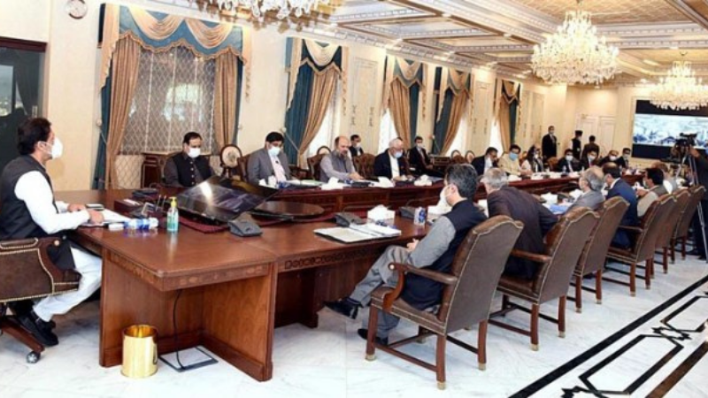 Prime Minister Imran Khan chairs the sixth meeting of Board of Approvals for Special Economic Zones on Wednesday. — APP