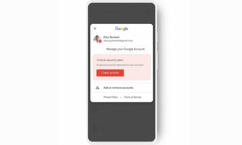 گوگل کا سیکیورٹی مسائل کے لیے نیا الرٹ سسٹم متعارف کرانے کا اعلان