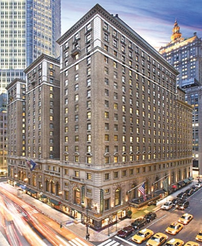 The Roosevelt Hotel, located in midtown Manhattan, is a prominent landmark in New York. Named after US President Theodore Roosevelt, the hotel — which opened its doors in 1924 — is owned by PIA.
