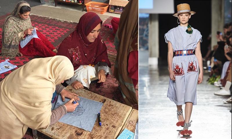 جب پاکستانی خواتین کا کام 'میلان فیشن ویک' میں پیش کیا گیا