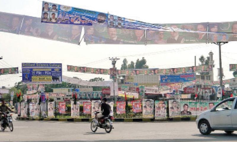 This file photo shows Taxila cantonment. — Dawn