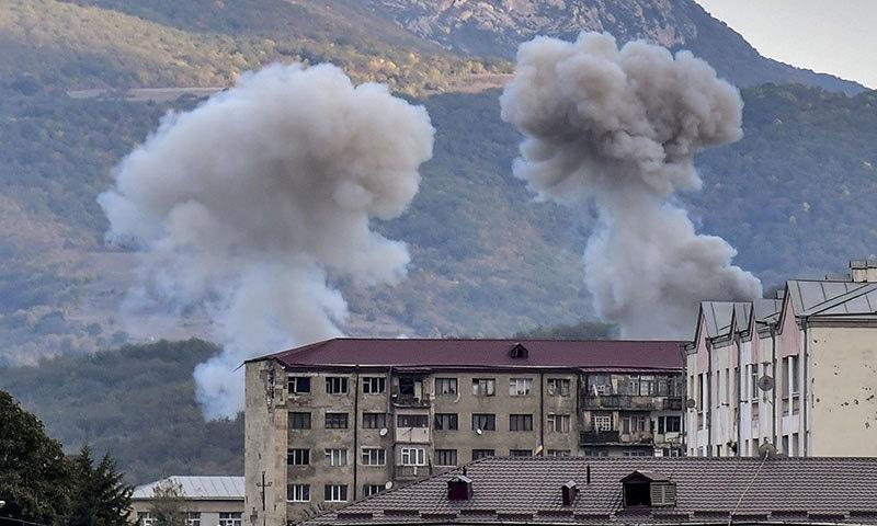 آرمینیا اور آذربائیجان کے مابین سیز فائر کا معاہدہ چند منٹ بھی برقرار نہ رہ سکا