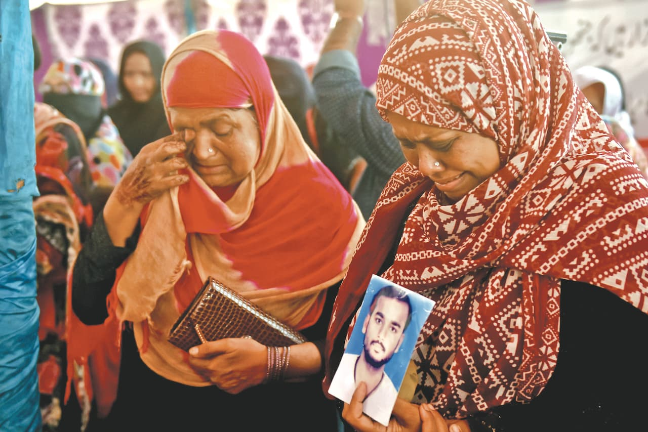 The pain is still fresh for the families of the victims | Fahim Siddiqui/White Star