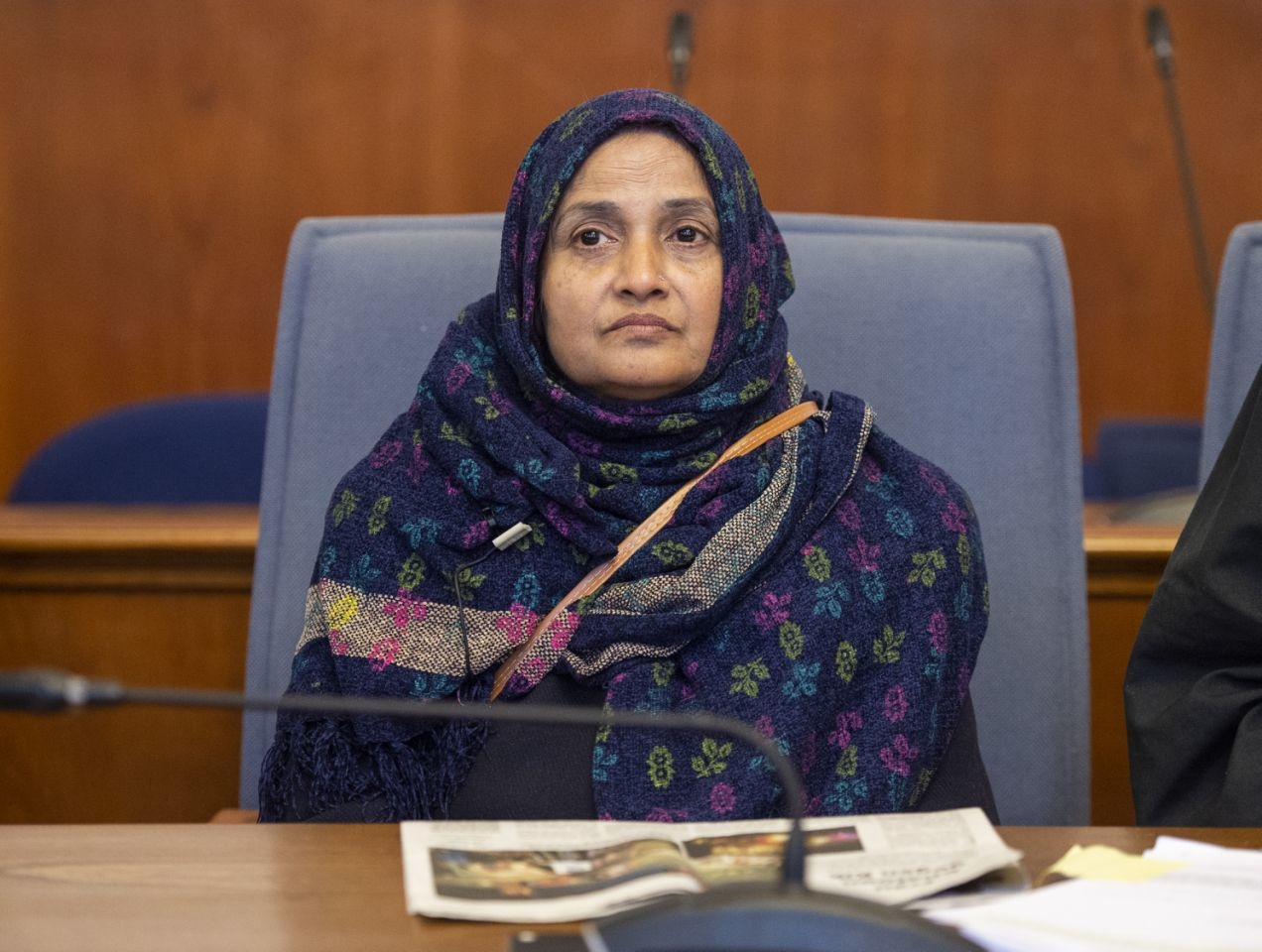 Saeeda Khatoon at a court in Dortmund | AP