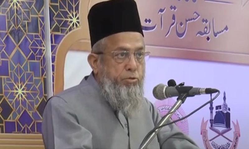 مولانا ڈاکٹر عادل خان — فوٹو: ڈان نیوز