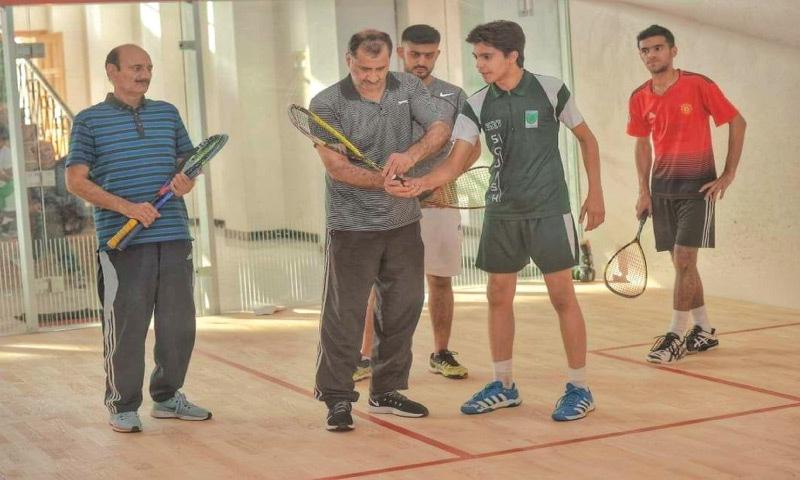 Jansher coaches young talent in Peshawar