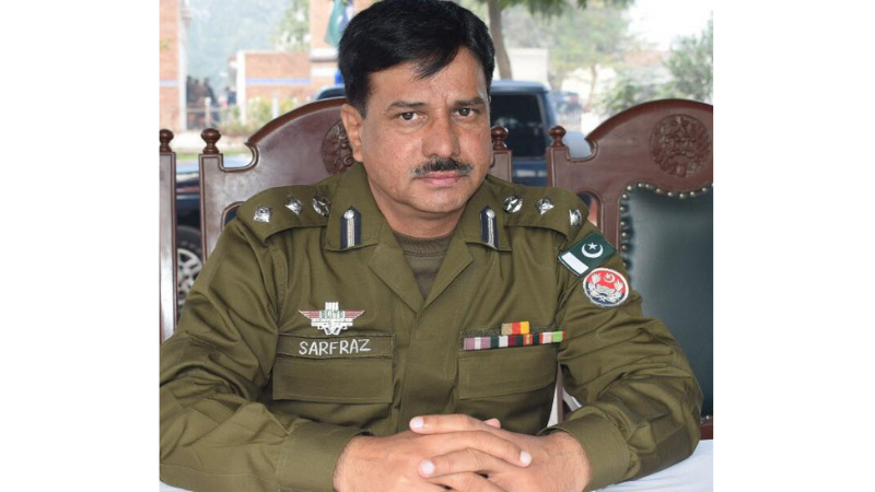 "Sarfraz Ahmad Falki as new city police officer (CPO) of Gujranwala, that will be hosting a ""massive"" rally to be staged by the opposition alliance the Pakistan Democratic Movement (PDM) on Oct 16. — Photo courtesy: Facebook"