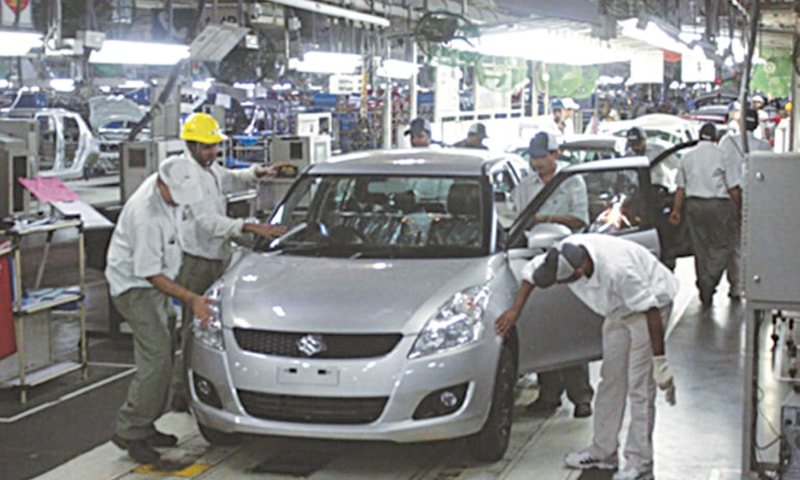 Auto sales rise amid fall in production