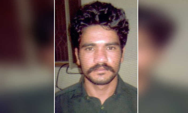 Abid Malhi, pictured, is the main suspect in the Lahore-Sialkot motorway gang-rape case. — DawnNewsTV