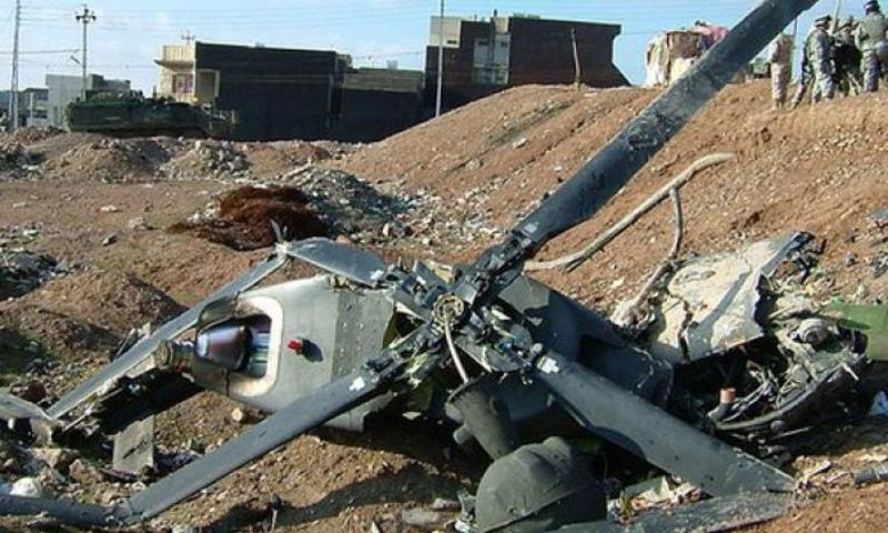 افغانستان میں 2 فوجی ہیلی کاپٹرز ٹکرا گئے، 9 افراد ہلاک