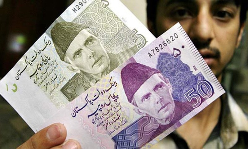 The rupee has remained stable over the last two weeks, trading below Rs165 in the interbank market. — APP/File