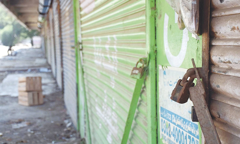 Many Sindh towns shut in response to STP call for strike against ordinance on islands