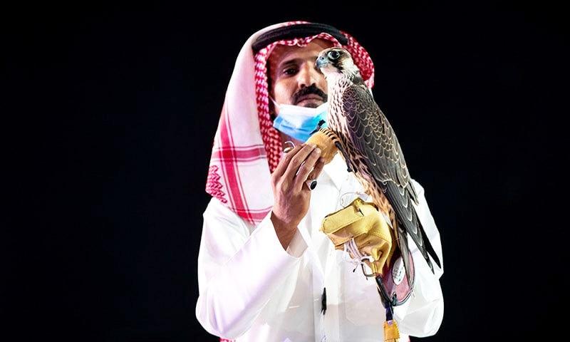 سعودی عرب میں 'باز' پونے تین کروڑ روپے میں فروخت