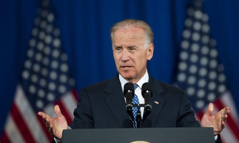US presidential candidate Joe Biden. — AFP/File