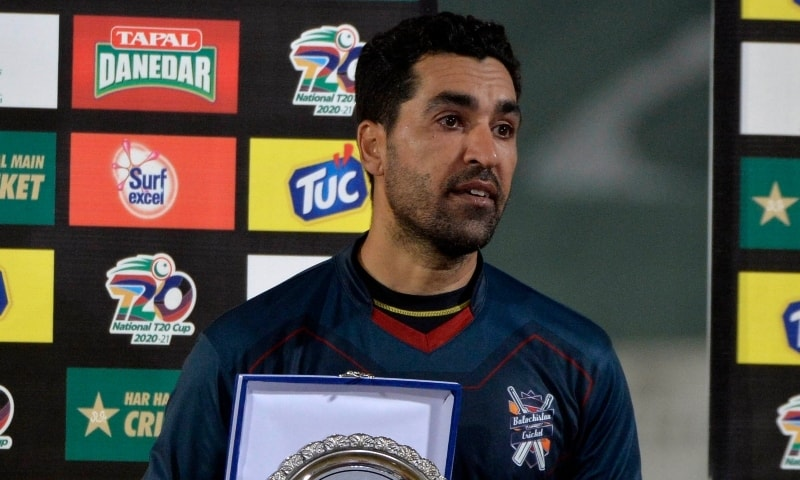 Fast bowler Umar Gul has announced that he will be retiring from all forms of cricket after a 20-year professional career after Balochistan failed to qualify for the National T20 Cup semifinals. — Photo courtesy PCB Twitter
