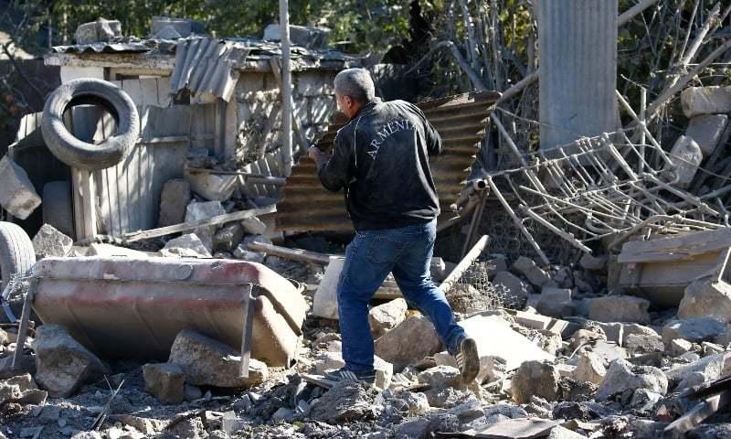 آذربائیجان کے شہر میں میزائل حملہ، 12 افراد ہلاک