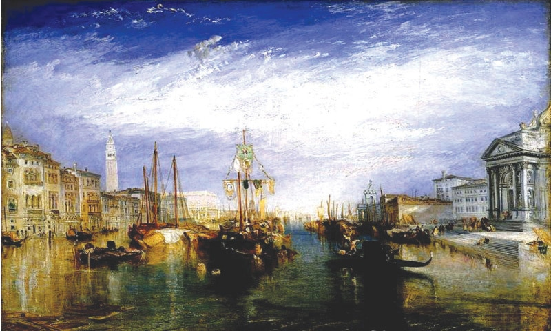 Grand Canal Of Venice (1835)