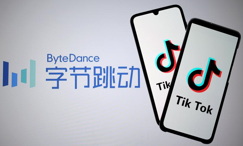 """The Chinese social media giant TikTok issued a cryptic statement on Saturday which called for lifting of the ban on the app in return for a vague assurance centred on the """"allocation of resources"""" to the Pakistani market. — Reuters/File"""