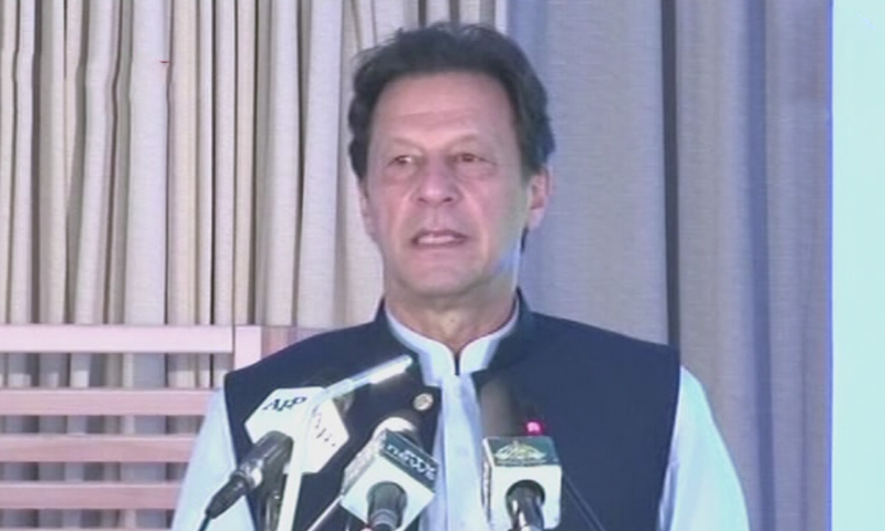 PM Imran warns of 'second spike' in Covid-19 cases in cities with high pollution levels