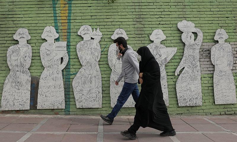 ایران میں اب تک 30 ہزار 712 متاثرین ہلاک ہوئے—فوٹو:رائٹرز