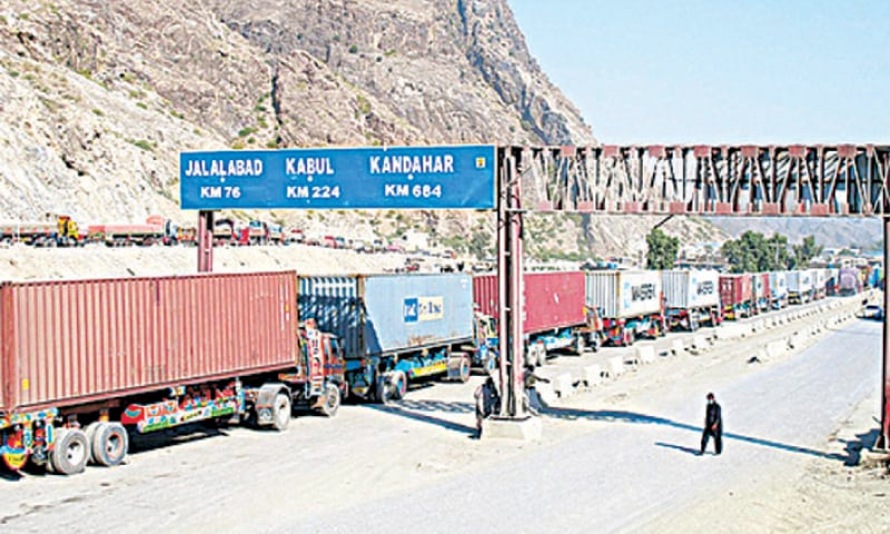 the number of containers arriving under the Afghanistan-Pakistan transit trade increased 43.95pc to 93,732 in 2018-19 from 60,516 in the 2017-18.