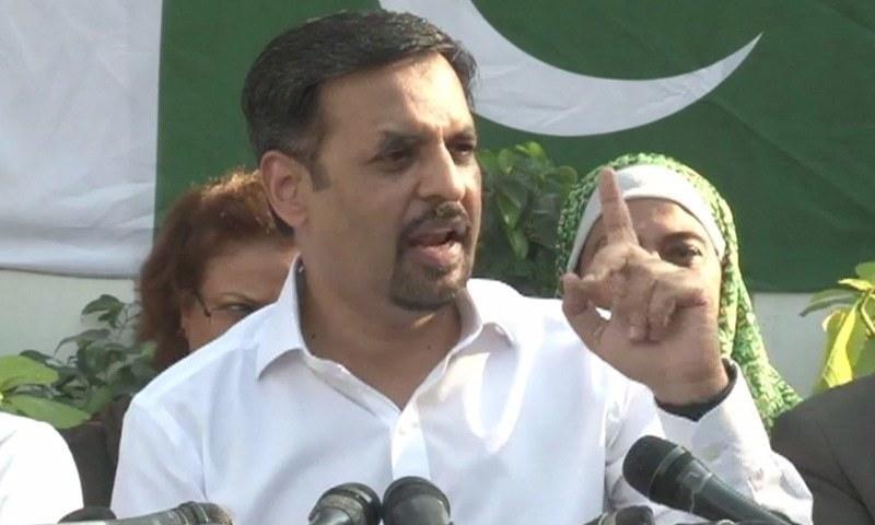 Pak Sarzameen Party chairman Syed Mustafa Kamal. — DawnNewsTV/File