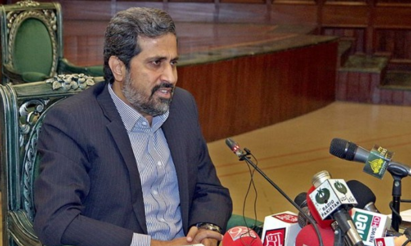 Punjab Information Minister Fayyazul Hassan Chohan has said the Pakistan Army is anchoring everything in the country, including the government. — APP/File