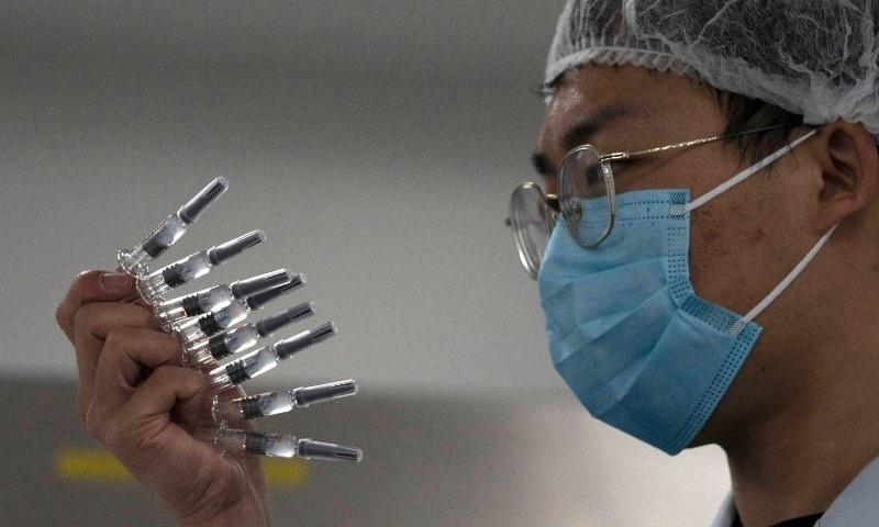 چین کی تجرباتی کورونا ویکسین تیسرے مرحلے میں محفوظ قرار