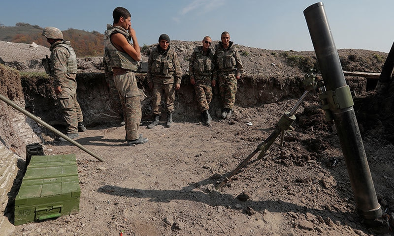 نیگورنو-کاراباخ میں آذربائیجان سے کشیدگی میں 773 فوجی مارے گئے، آرمینیا
