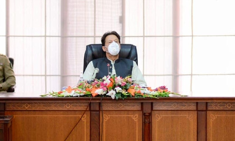 وزیراعظم عمران خان نے کہا کہ اگر رواں برس جولائی میں ڈیڑھ ٹن گندم درآمد کرلی جاتی تو صورتحال مختلف ہوتی —تصویر: عمران خان فیس بک